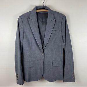 Theory Gabe B Tailor Stretch Wool Jacket Blazer 8